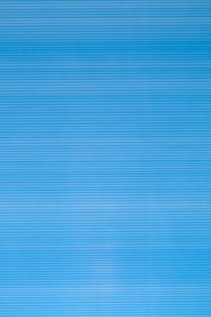 sunroom: blue background. Stock Photo