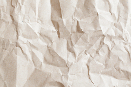 creases: Brown paper with creases.