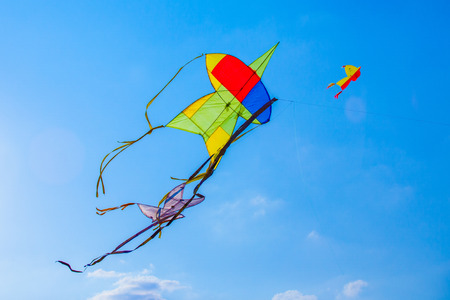 kite: Kite flying in the sky