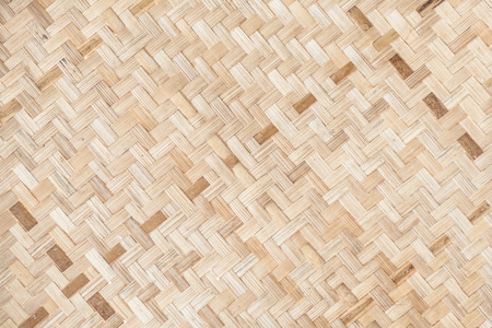 basketry: Bamboo basketry Stock Photo