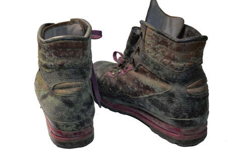 moldy old shoes photo