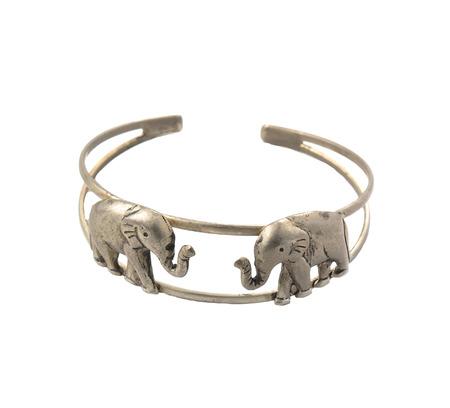 bangle: Original illustration of an isolated elephant bangle