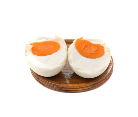 duck egg: Salted Duck Egg Stock Photo