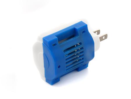 fumigador: fumigador en el fondo blanco Foto de archivo