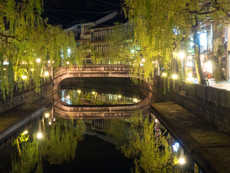 Kinosaki onsen is a small town in Toyooka. This is a onsen (Japanese style public warm bath) town for relax in vacation.