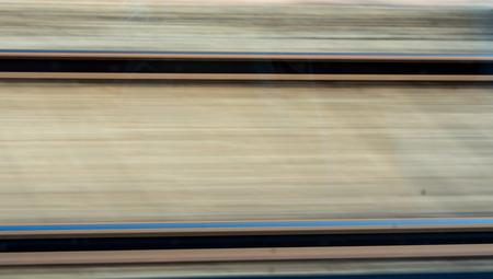 techniek: Spoorlijn bewegingsonscherpte techniek