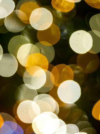 focus on background: Colorful out of focus bokeh background Stock Photo