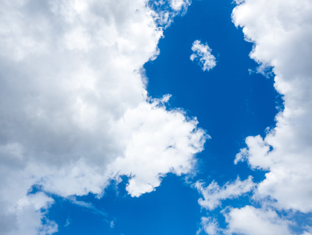float cloud: Cloud and blue sky for background