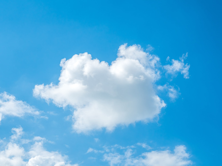 float cloud: Cloud float on blue sky for background