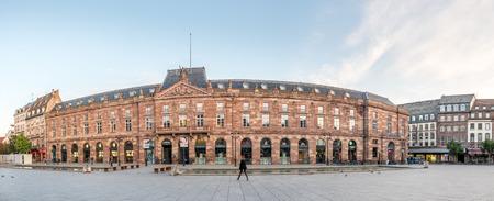 ber: STRASBOURG - OCTOBER 10: Aubette building at Place Kléber, the largest square in Strasbourg, France, on October 10, 2016.