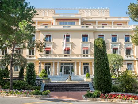 モナコ - 4 月 8 日: 省 2017 年 4 月 8 日にモナコ、モナコ、美しい建築の建物します。