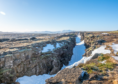Thingvellir, the natural place in Iceland, is boundary between North American plate and Eurasian plate. Outstanding with many natural things.