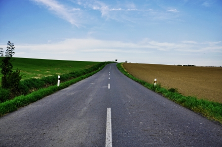 roads in the countryside