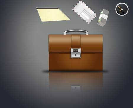 briefcase businessman
