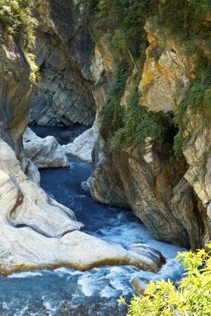 The beauty of the rock streams 版權商用圖片