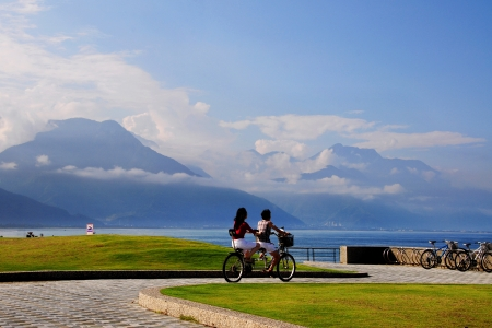 Taiwan Hualien Chisingtan Cycling
