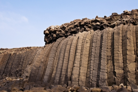 Taiwan Penghu Basalt  Zdjęcie Seryjne