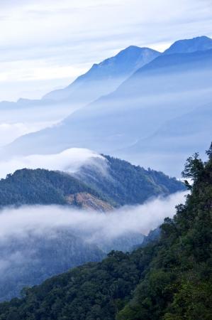 Taiwan Tatachia Beautiful mountains