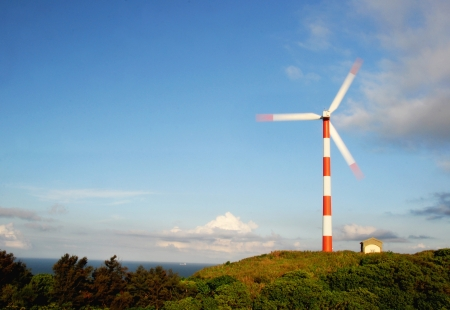 environmental protection: Wind power in Taiwan