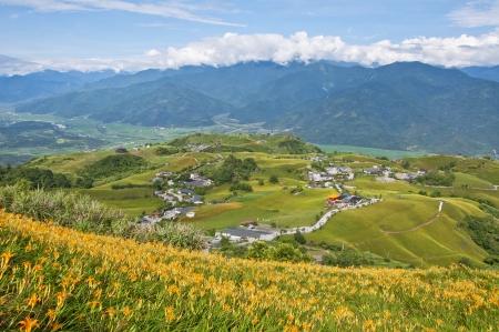 The beautiful mountains of eastern Taiwan Zdjęcie Seryjne
