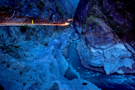 Taiwan Taroko National Park  Beautiful scenery 版權商用圖片