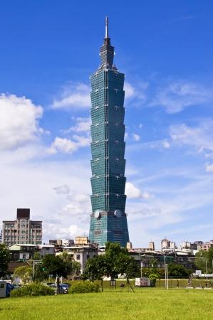 Taiwan Landmark Taipei 101 報道画像