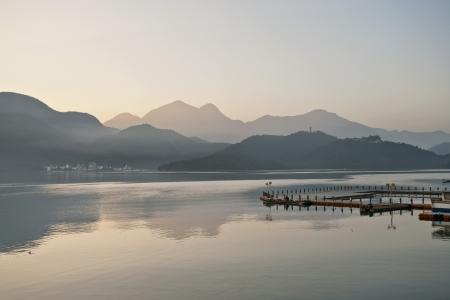Taiwan Landmark Sun Moon Lake Beautiful scenery Zdjęcie Seryjne