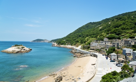 Taiwan's outlying islands landscape