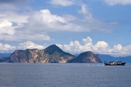 Turtle Island in eastern Taiwan