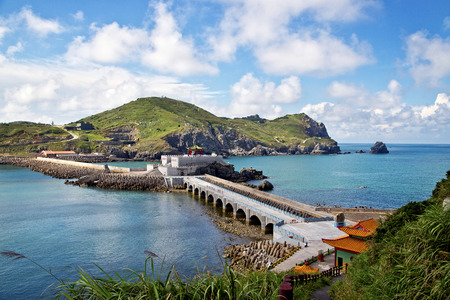 The beautiful coast of Taiwan Matsu