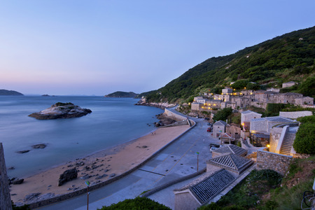 The beautiful coast of Taiwan Matsu