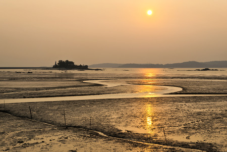 The beautiful coast of Taiwan Kinmen Zdjęcie Seryjne