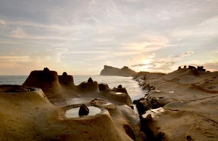 Taiwan Yehliu Geopark strange rock