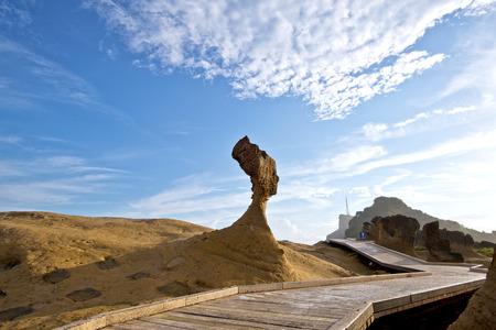 대만 Yehliu 지오 파크 이상한 바위