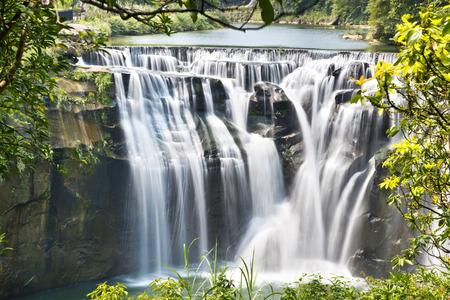 rivulet: Beautiful waterfall in Taiwan