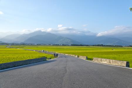 taiwan scenery: Taiwan rural scenery Stock Photo