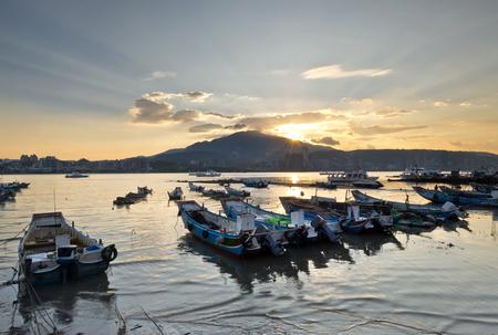 Beautiful scenery of Taiwan Pier