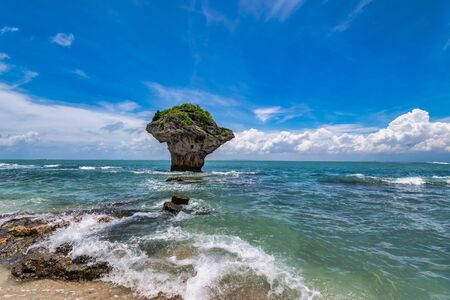 Scenery of the coast at Siao Liouciou in Pingtung , Taiwan Zdjęcie Seryjne