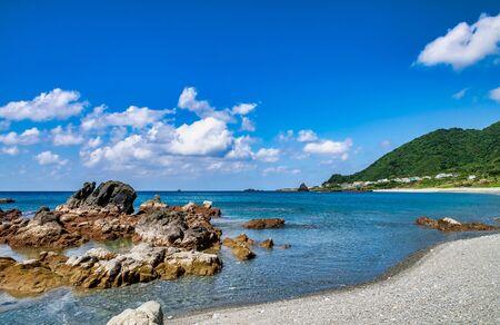 Coastal scenery of Lanyu (Orchid Island), Taitung, Taiwan Zdjęcie Seryjne