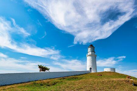 Landscape of Dongquan Lighthouse at Dongju, Matsu, Taiwan