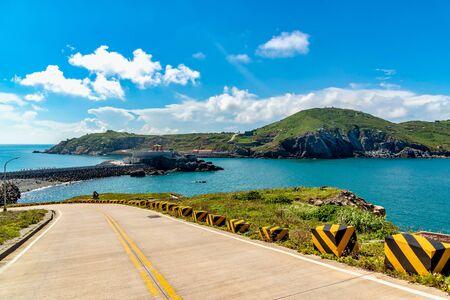 Scenery of coast at Dongyin Township, Matsu, Taiwan