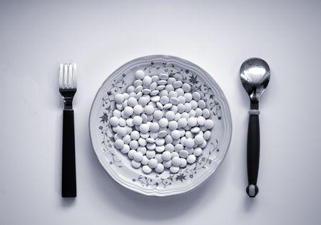 多くの薬の丸薬!医療、医薬品