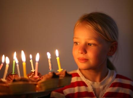 Portait of a girl, blond scandinavian teenager  photo