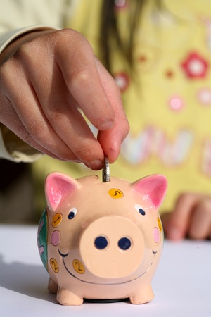 money box, piggy bank Banque d'images