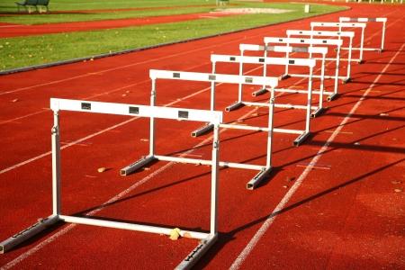 Running lane in a stadium in Denmark