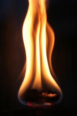 flamme: flame burning