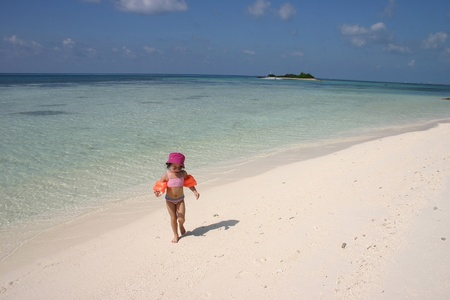 Sceneries from the maldivian islands Stock Photo - 10070887