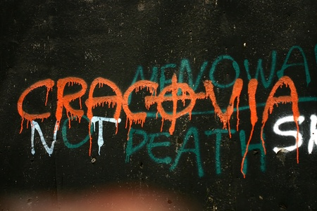 graffiti op een muur
