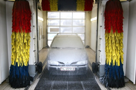 car wash Banque d'images - 10067534