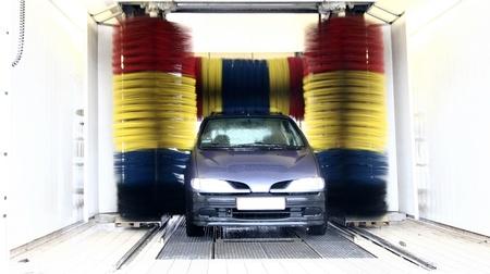 Lave-auto Banque d'images - 10070730